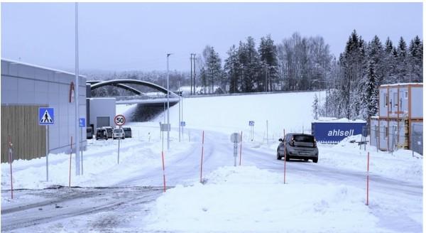 Prestmyrvegen. Foto Elverum kommune