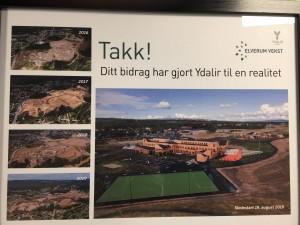 Ydalir skoleområde - utvikling fra 2016-2019