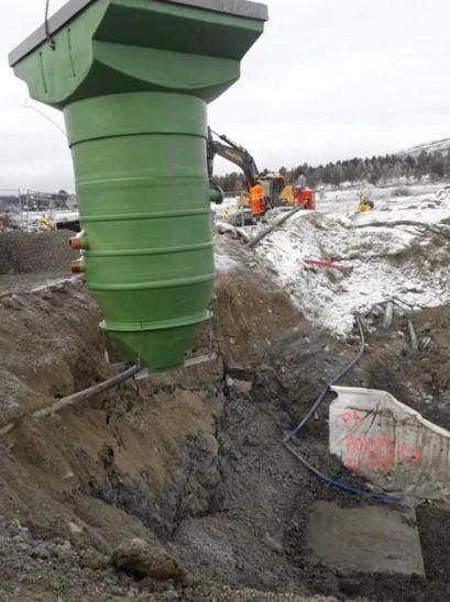 Hovdmyra pumpestasjon foto SBM