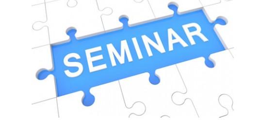 Seminar 2021